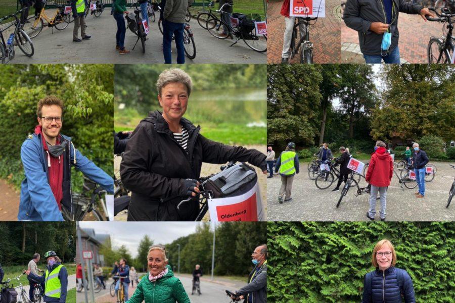 Impressionen von der Fahrradtour im September 2020